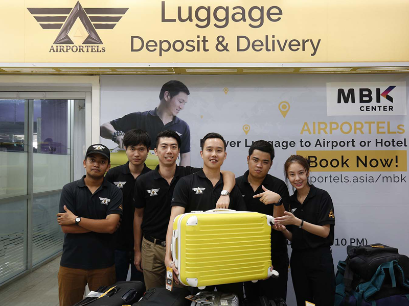 luggage delivery,mbk center,bag deposit,airportels